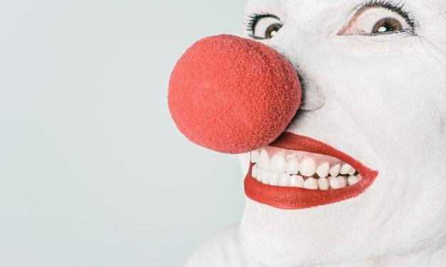 Circus: self-abasement edition